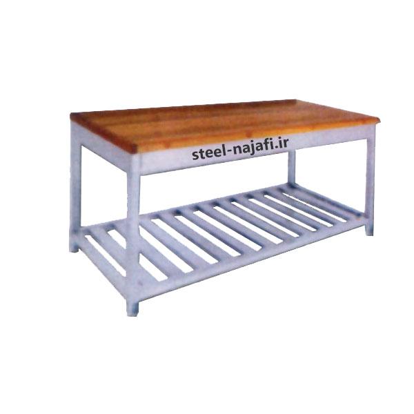 میزکار با صفحه چوب