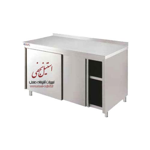 کابینت زمینی درب کشویی