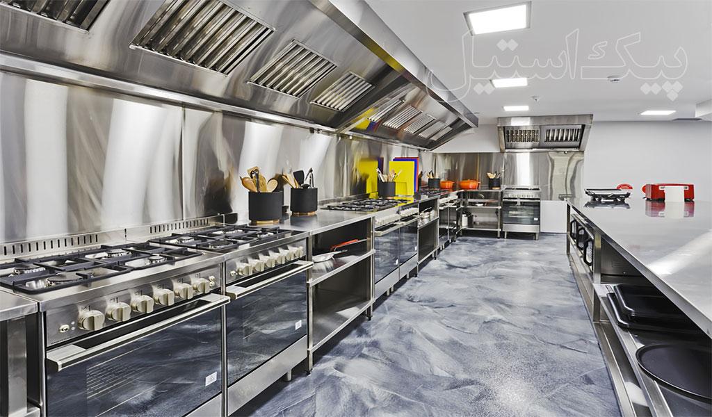 پیک استیل | تولید کننده تجهیزات آشپزخانه صنعتی